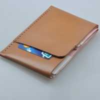 Luxury Designer Handmade Leather Wallet 2016 New Original Hand Made Leather Purse Multi Functional Card Holder