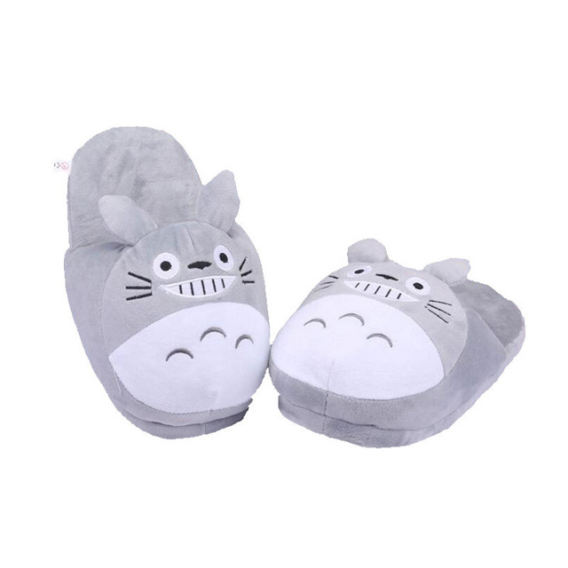 My Neighbour Totoro Catbus Susuwatari Fairydust Plush Home Shoes Indoor Slippers