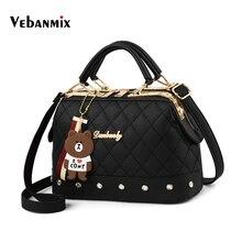 Luxury Women Leather Handbags 2018 Fashion Rivets Girls Shoulder Bags High Quality Vintage Messenger Crossbody Bags for Women