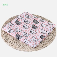 Cotton Baby Blanket Flamingo Soft Multi-functional Muslin Blankets Bedding Infant Swaddle Towel For Newborn