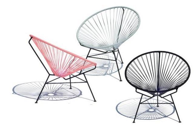 Outdoor Leisure rattan chair Cane chairs Garden Chair Iron Courtyard Chair