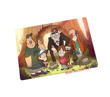 gravity falls mouse pad gear Retro game pad to mouse notebook computer mouse mat brand gaming mousepad gamer laptop