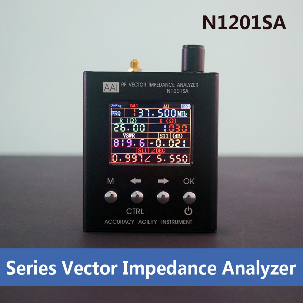 N1201SA 140MHz 2 7GHz UV RF Vector Impedance ANT SWR Antenna Analyzer Meter Tester