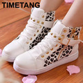 Spring 2016 new Womens casual black blue white boots zipper canvas sport buckle rivet Sneakers shoelace anti-slip shoes