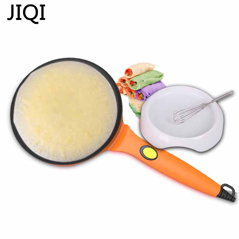 JIQI Authentic Pizza Home Electric Baking Tablet Furnace Bake Machine.Pancake Machine Br ...