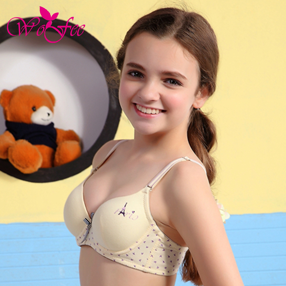 nudist child girls 2015 All Seasons Soft Wire Push Up Young Girl Bra 100% Cotton Bra 8858-in  Bras from Mother & Kids on Aliexpress.com | Alibaba Group