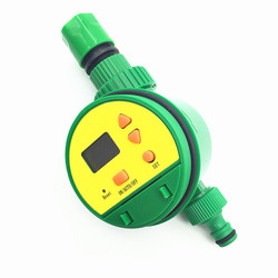 Electronic Sprinkler Garden timer Digital display lawn park Farm Irrigation Times Water Connection G3 / 4 '' and quick connector