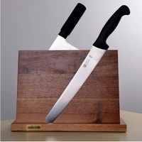 NEW Solid Wood Magnetic Knife Holder Ventilation Drying Knife Storage Block Knife Stand Magnet Kitchen Utensil Cooking Tools