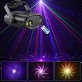 Лазерный светильник ALIEN RGB  мини-проектор Gobo Lazer с питанием от USB  5 Вт  активация звуком
