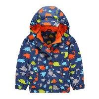 New Spring Autumn Children Kids Warm Jackets Coats Baby Boys Girls Windproof Waterproof Warm Jackets Character