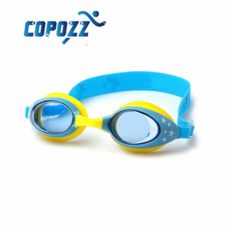 COPOZZ Brand 1*Outdoor Kids Swimming Glasses Children Baby Swimming Goggles Anti-fog Swim Glasses Adjustable Free shipping!