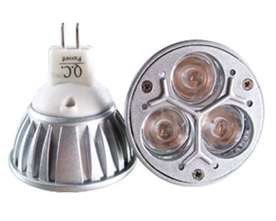 MR16 LED spot light;3*1W;warm white/white/red/gren/blue/yellow color;HG-DMR16-3*1w