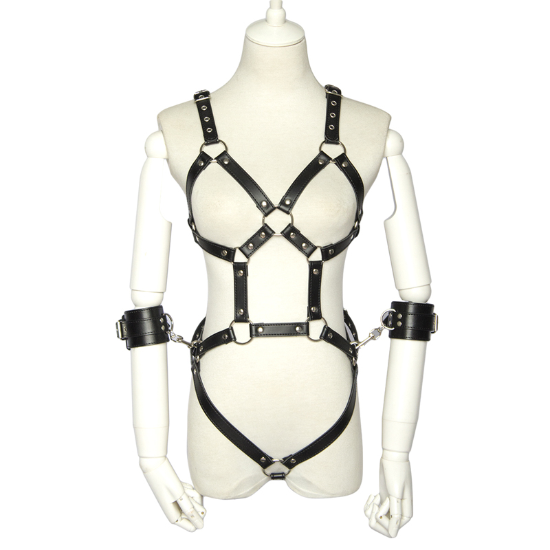 Aj Marion Leather Bondage