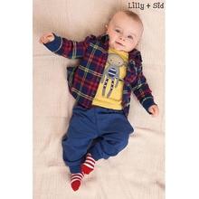 Roupa Infantil Menina Long Sleeve Spring Baby Layette Cute Fashion Baby Boy Clothings Bebek Spring Autumn