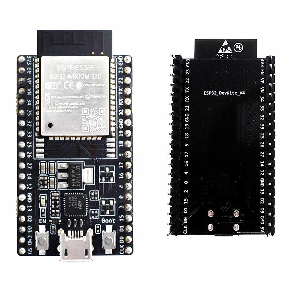 ESP32-DevKitC development board WIFI + Bluetooth IoT NodeMCU-32 ESP-WROOM-32D ESP32-WROOM-32U