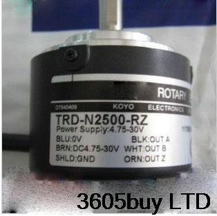 Solid Shaft Rotation Speed Photoelectric Encoder TRD-N360-RZW
