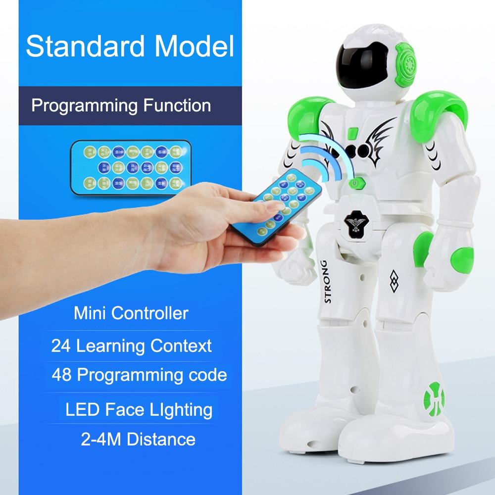 Remote Control Smart Program Intelligent Robot Walk Slide Dance Music Talk Demostration Interactiv Gesture Inductive Warrior Toy in Action Toy Figures from Toys Hobbies