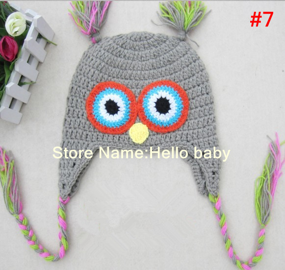SMOOTH LILAC BABY TODDLER OWL SUNHAT ONE SIZE