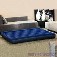 Каппа INTEX многие люди стекаются полосатый надувной матрас 68755 напольный шатер двойной кондиционер, кровать