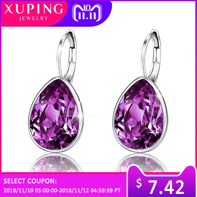 11.11 Deals Xuping Charm Colorful Earrings Thanksgiving Day ...