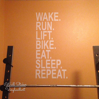 Gym Quote Wall Sticker Motivational Gym Stickers Inspirational Wall Quotes Cut Vinyl Stickers Q90