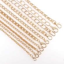 120cm DIY Jewelry Chain Shoulder Bag Straps Chains with Lobs