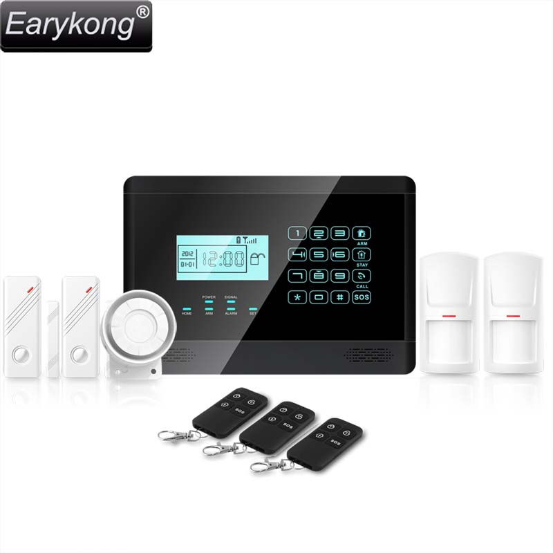 Practical Nerykong M2e Gsm Alarm System Just For Regular Vip Buyer Support English /spanish /italian /czech /french /russian /portuguese Security Alarm