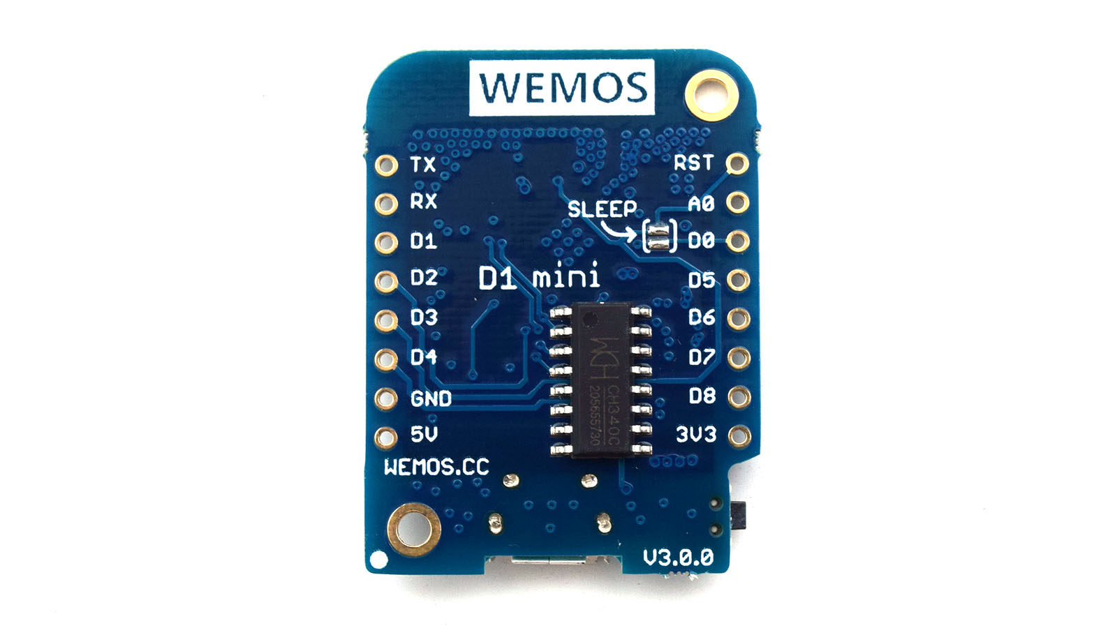 11-Digit Input Pin ESP8266 Wemos D1 Mini NodeMCU V2.3.0 WIFI 3.2V Board Arduino