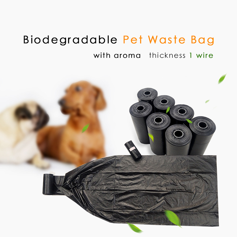 Dog Bags Black Thick Compole Waste