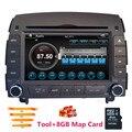 """7 """"2 din Coche reproductor de DVD Para Hyundai SONATA NF/7 2007 2008 2006 2005 2004 GPS de Navegación de Radio RDS BT TV Ipod 3G/Wifi puerto USB"""