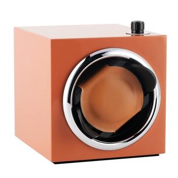 1+0 Adjustable Mode Watch Winders Orange/Black/Red Winding Box Silent Motor Shaker Storage Case High Quality Winder Boxes