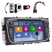 Autoradio Receiver For Ford Mondeo Bluetooth System MP3 CD Radio In Dash Car DVD Player Auto Touchscreen GPS Navigation Stereo