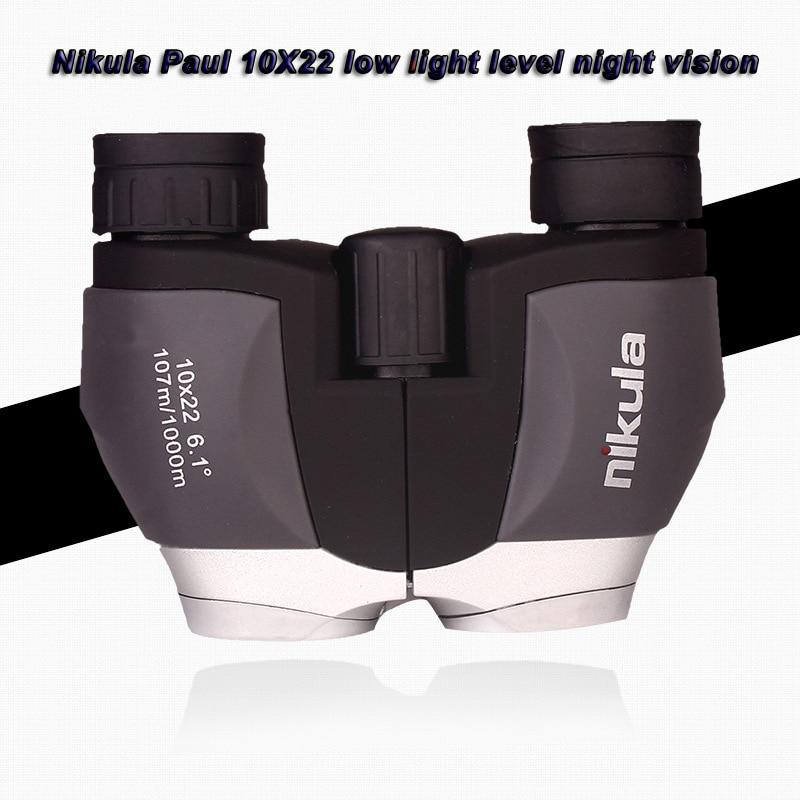 Hot Selling Nikula Brand Paul 10X22 Pocket High-definition op Low - Jacht