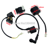 NEW Ignition Coil CDI Regulator Rectifier STATER RELAY Kit for 150cc 200cc 250cc Chinese ATV Quad