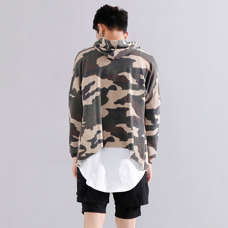 f1f5b6603 US $42.15 |Streetwear Oversized Camouflage Sweatshirt Army Hip Hop  Streetwear Brand Clothing Cotton HipHop Camo Military Pullover Hoodie-in  Hoodies & ...