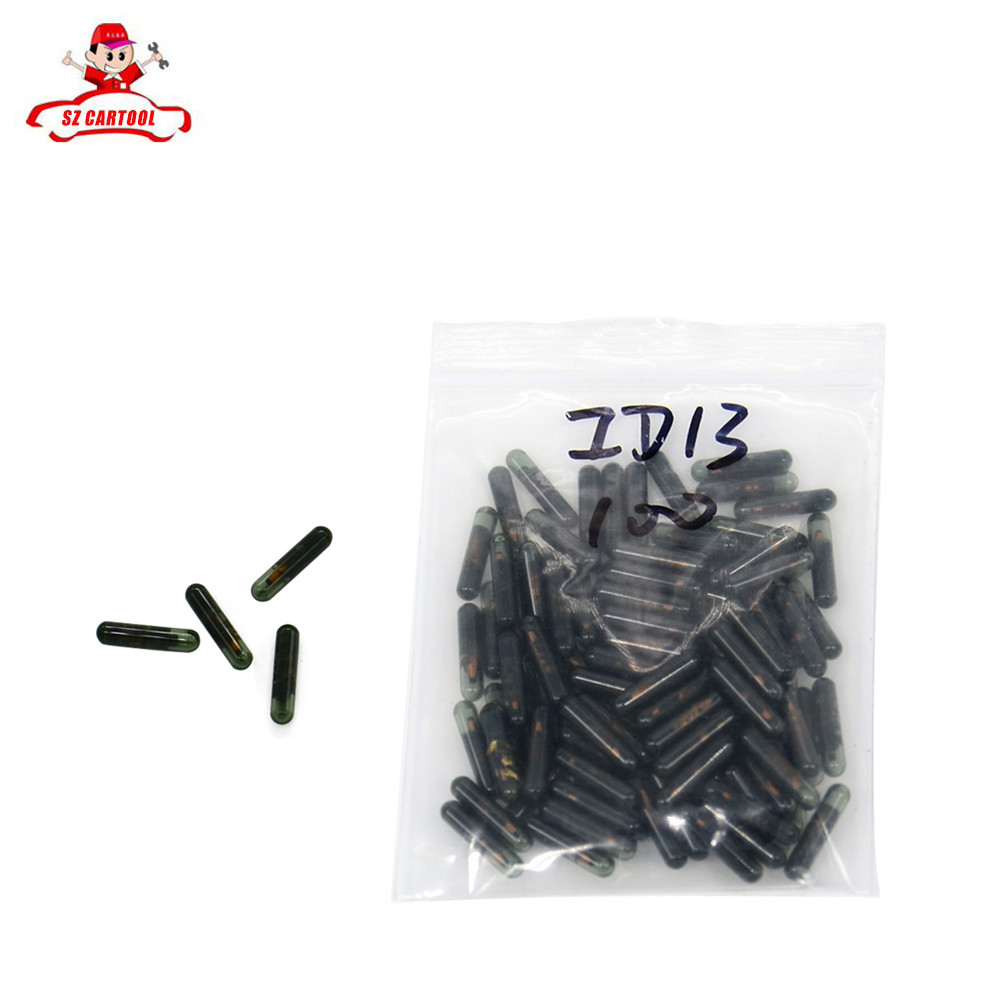 5pcs lots id13 chip original car key id13 transponder chip for honda key unlocked id13