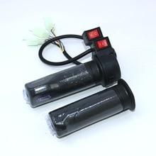 EVfitting Электрический велосипед самокат трехколесный велосипед с газовой ручкой ebike дроссельная заслонка с 40 см проводом и с 3 скоростными и обратными переключателями кнопка