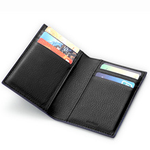 fashion panelled card wallet credit card case holder card package set ultra-thin bank card bag – 3 colors