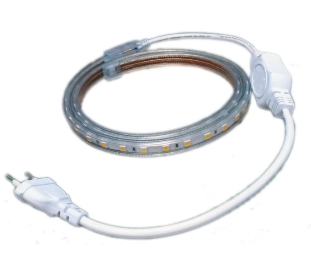 120 leds ac 220 v tiras de led para sinais de iluminação