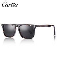 Carfia Men Classic Square Sun Glasses Fashion Polarized Sunglasses For Men Women 2018 Designer Brand Accessories 100% UV400