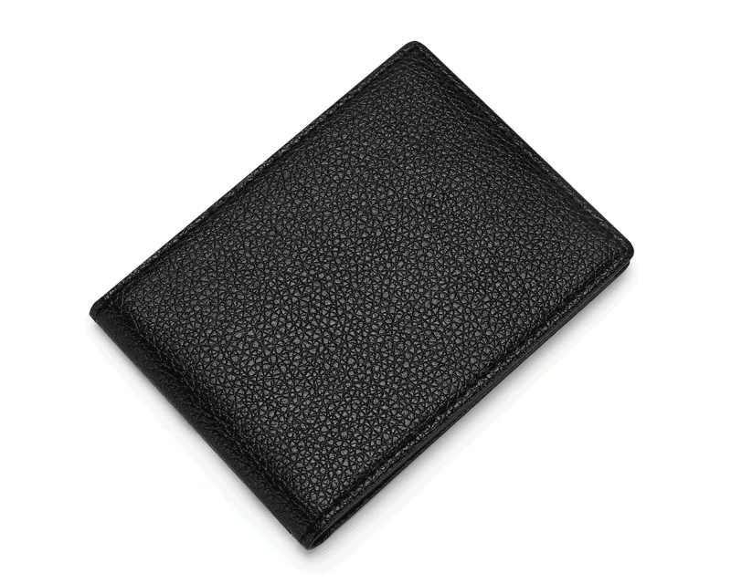 رقيقة جدا رخصة القيادة حامل بولي Leather الجلود على غطاء لسيارة وثائق القيادة الأعمال ID تمرير شهادة مجلد محفظة للجنسين