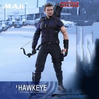 MMS358 1:6 полный набор фигурку Капитан Америка: Civil War Hawkeye Коллекционная фигурка кукла для подарка
