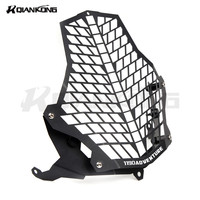 Motorcycle Headlight Grill Guard Cover Protector For KTM1190 Adventure LAMP Protector Cover With Logo