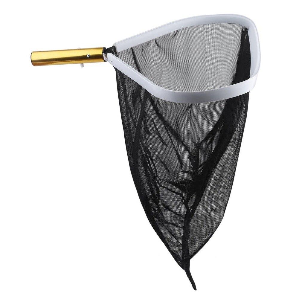 New Swimming Pool Cleaning Professional High Strength Aluminum Frame Leaf Rake Mesh Net Skimmer Cleaner Spa Tool