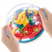 Professional 3D Puzzle Magic Maze Ball perplexus magical intellect Marble Puzzle IQ Balance Early Educational toys for Kids J11(China)
