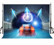 150x220cm Amazing Science Fiction View Backdrop Space Through Photography Background
