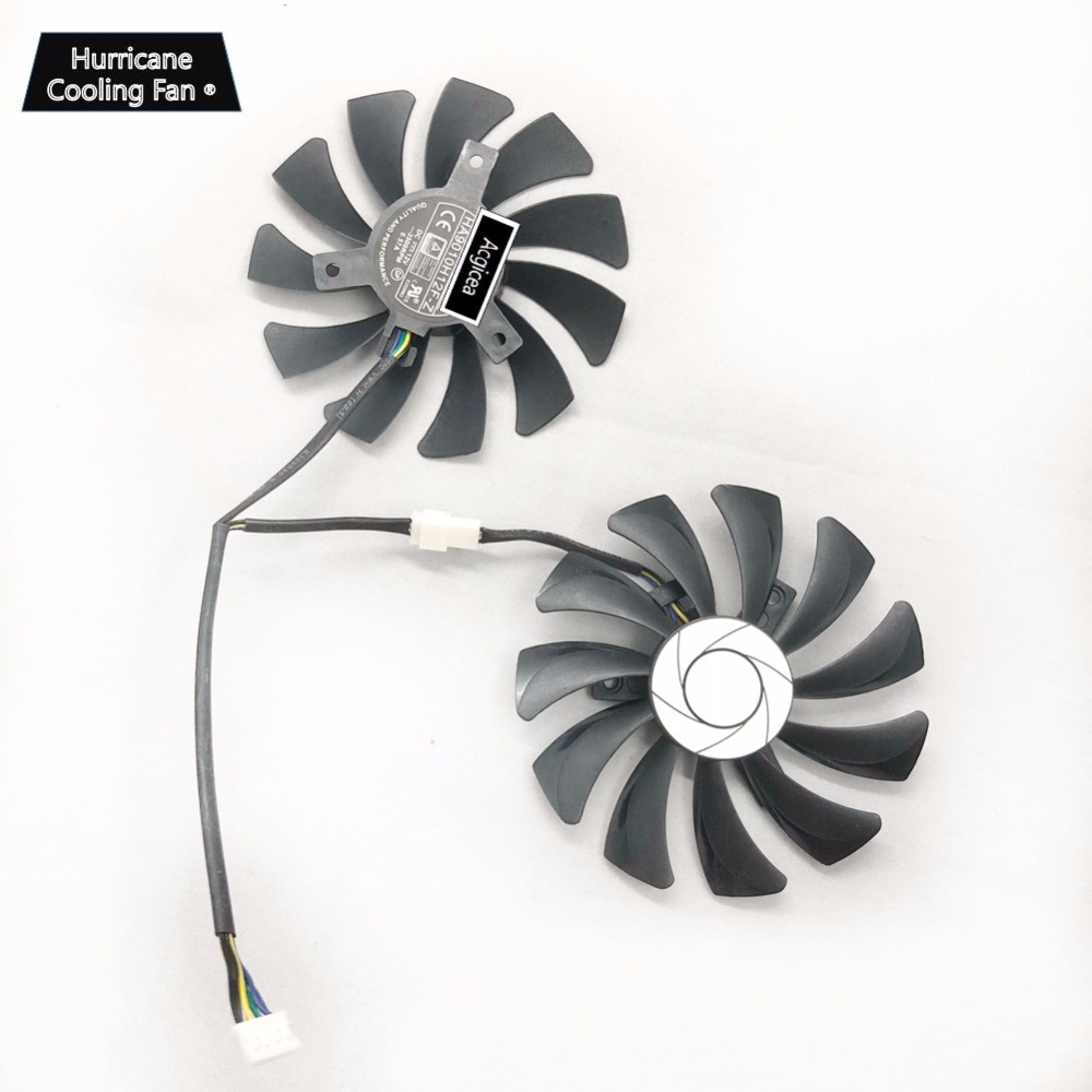 New 12V 0.5A HA9010H12F-Z Graphics Card Cooling Fan for MSI GeForce GTX 1060 OC 6G GTX 960 P106-100 P106 GTX1060 GTX960 Cooler image