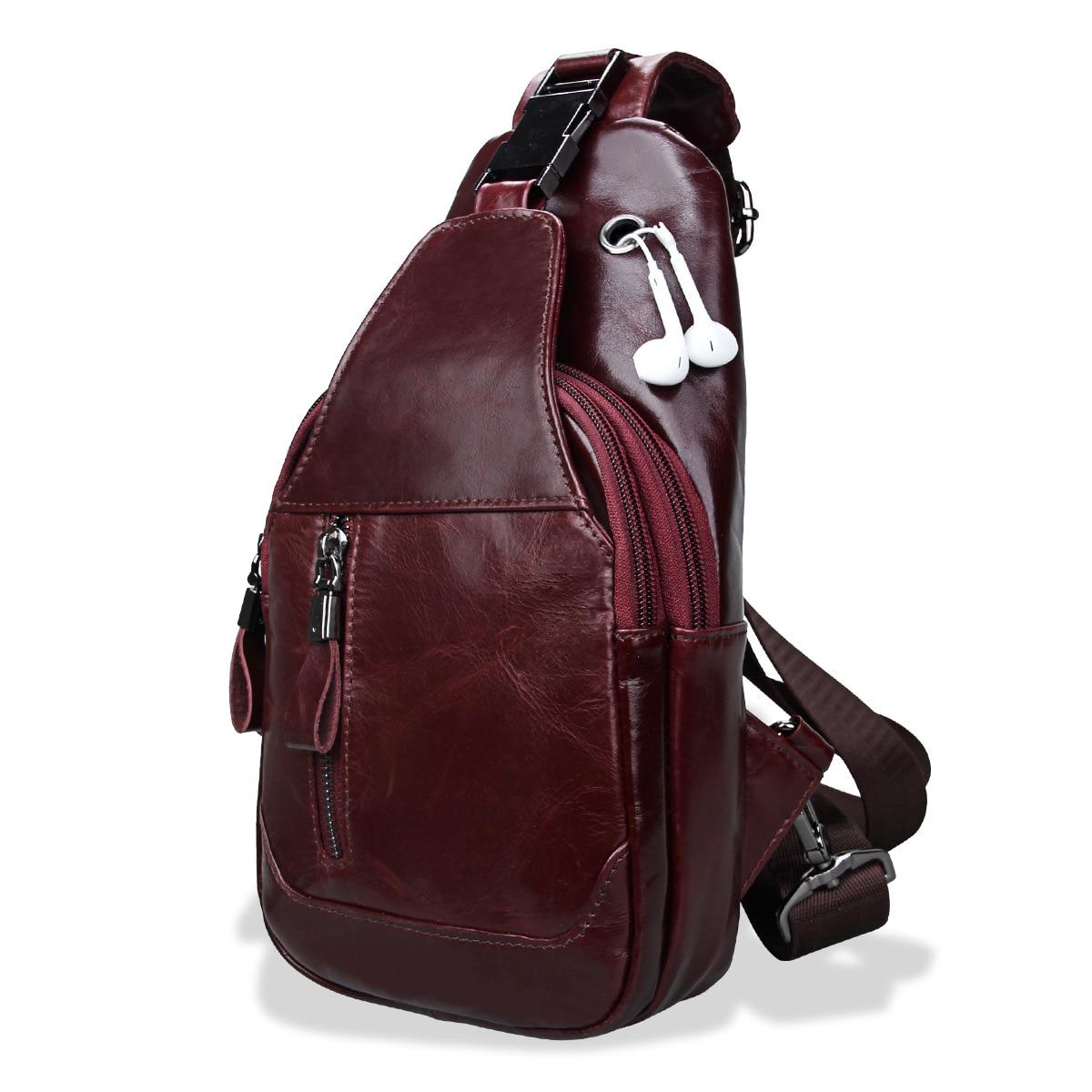 Genuine Leather Men Waist Packs Travel Chest Bag Unisex Belt Bag Men Money Belt shoulder Bag Bum crossbody bags for Women purse