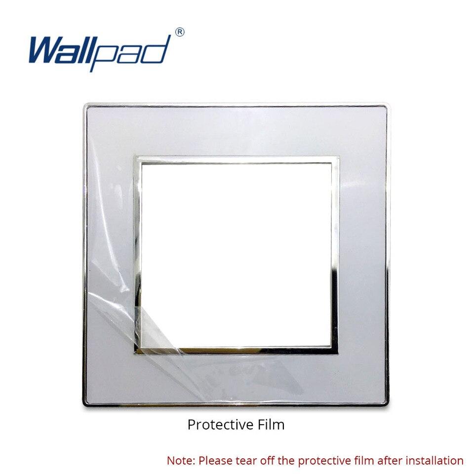 3 Gang 2 Way Light Switch 2019 Luxury Acrylic Mirror Panel With Silver Frame Wallpad Rocker Wall Switch 16a Ac110 250v White 3 Gang Mirror Light Switchwall Light Panel Aliexpress