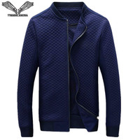 Men S Jackets 2017 New Arrival Casual Brand Clothing Solid Color Long Sleeve Stand Collar Slim